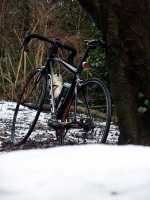 残り雪とZ35
